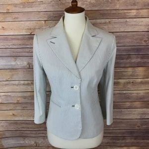 The Limited Striped Blazer 34 sleeves Size 8